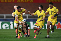 Rugby Union - 2020 / 2021 European Rugby Heineken Champions Cup - Round of 16 - Gloucester vs La Rochelle - Kingsholm<br /> <br /> La Rochelle's Victor Vito offloads to Kevin Gourdon.<br /> <br /> COLORSPORT/ASHLEY WESTERN