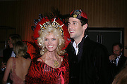 Countess Gunilla von Bismarck and Francesco von Bismarck. Andy & Patti Wong's Chinese New Year party to celebrate the year of the Rooster held at the Great Eastern Hotel, Liverpool Street, London.29th January 2005. The theme was a night of hedonism in 1920's Shanghai. . ONE TIME USE ONLY - DO NOT ARCHIVE  © Copyright Photograph by Dafydd Jones 66 Stockwell Park Rd. London SW9 0DA Tel 020 7733 0108 www.dafjones.com