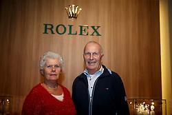 Maartje, Joop Hanse, (NED), breeders Valegro <br /> Prize giving WBFSH<br /> Genève 2015<br /> © Hippo Foto - Dirk Caremans<br /> 11/12/15