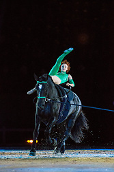 Vauting - Opening Ceremony - Alltech FEI World Equestrian Games™ 2014 - Normandy, France.<br /> © Hippo Foto Team - Leanjo de Koster<br /> 24/06/14