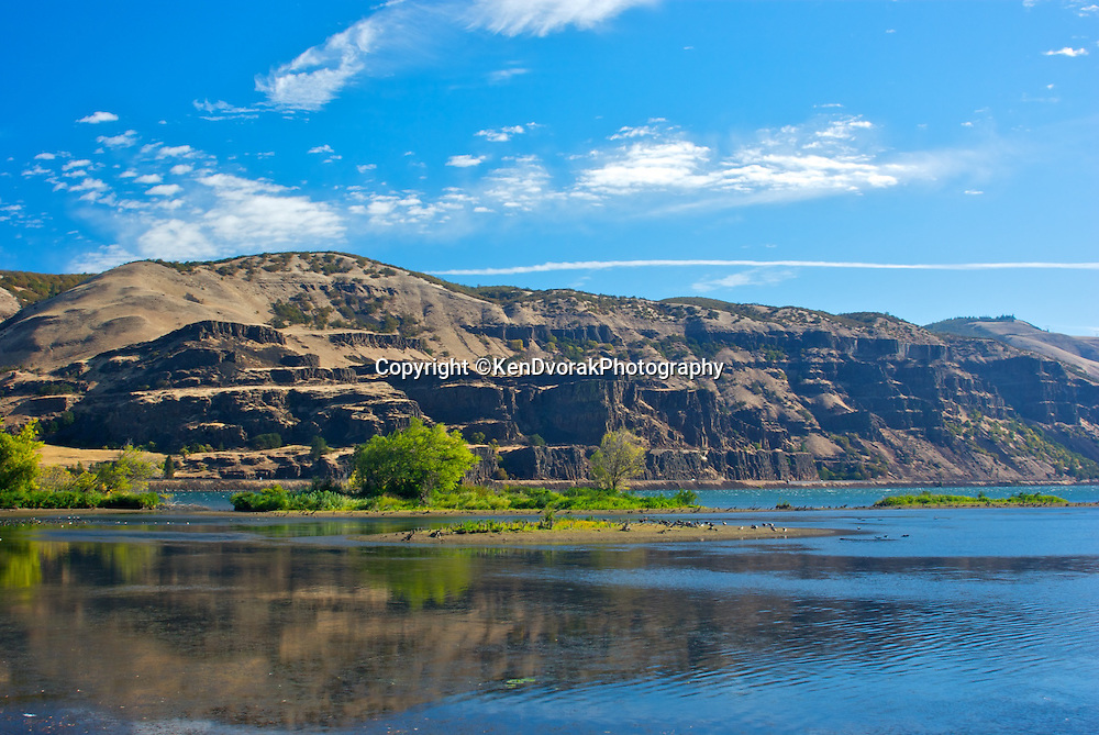 Mayer State Park just past the Dalles on Interstate 84 is a great rest stop with views of the Columbia River.