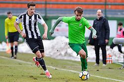 football match between ND Mura and ND Ilirija 1911 in Round #18 of 2.SNL 2017/18 on March 11, 2018 in Mestni stadion Fazanerija , Murska Sobota , Slovenia. Photo by Mario Horvat / Sportida