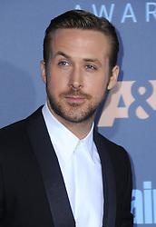 Ryan Gosling  bei der Verleihung der 22. Critics' Choice Awards in Los Angeles / 111216