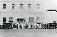 1929 Consolidated Film Industries at 6363 Santa Monica Blvd.