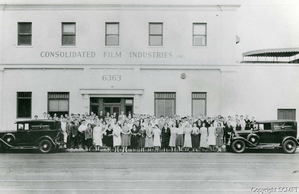 1929 Consolidated Film Industries at 6363 Santa Monica Blvd.