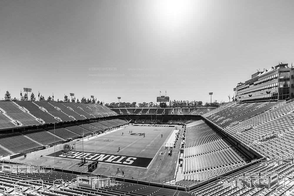 PALO ALTO, CA - OCTOBER 2:  A general view of Stanford Stadium before an NCAA Pac-12 college football game between the Stanford Cardinal and the Oregon Ducks on October 2, 2021 at Stanford Stadium in Palo Alto, California.  (Photo by David Madison/Getty Images)