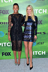September 13, 2016 - Los Angeles, Kalifornien, USA - Kylie Bunbury und Ali Larter bei der Premiere der FOX TV-Serie 'Pitch' auf dem West LA Little League Field. Los Angeles, 13.09.2016 (Credit Image: © Future-Image via ZUMA Press)