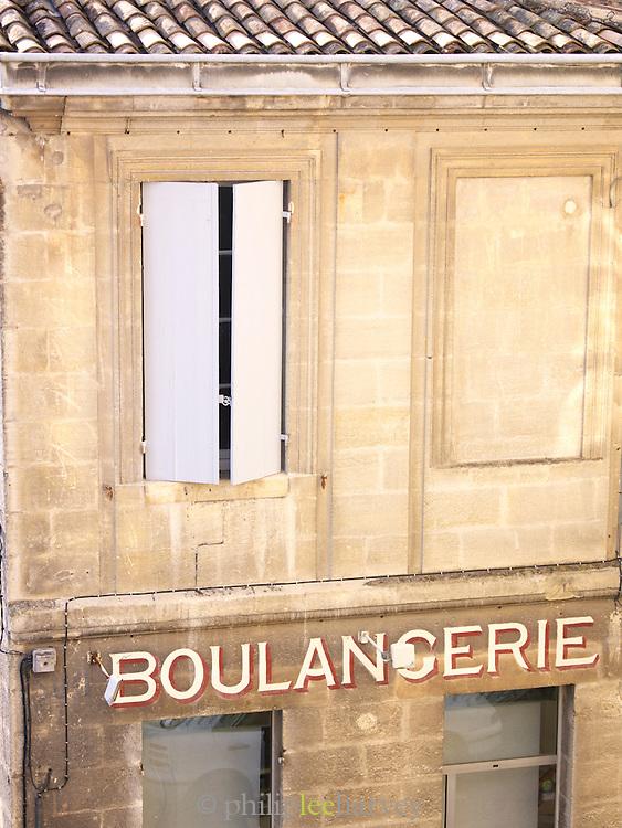 A boulangerie in St Emilion, Dordogne, France