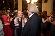 AMANDA CRAIG; A.C.GRAYLING, Drinks to celebrate the 60th anniversary of the Times Cheltenham Literature festival. Hosted by James Harding editor of the Times and the Directors of the Cheltenham Festival. The London Library. St. James's Sq. 23 September 2009.
