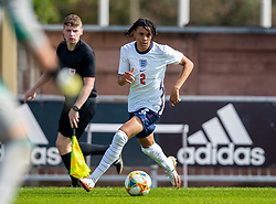 NEWPORT, WALES - Friday, September 3, 2021: England's Richard Olise during an International Friendly Challenge match between Wales Under-18's and England Under-18's at Spytty Park. (Pic by David Rawcliffe/Propaganda)