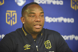 Cape Town-180428  Cape Town City coach Bennie McCarthy being interviewed about PSL game against Orlando Pirates  at Cape Town  stadium.photograph:Phando Jikelo/African News Agency/ANA