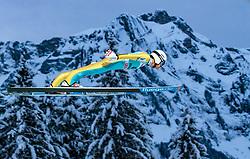 15.12.2017, Gross Titlis Schanze, Engelberg, SUI, FIS Weltcup Ski Sprung, Engelberg, im Bild Daniel Huber (AUT) // Daniel Huber of Austria during Mens FIS Skijumping World Cup at the Gross Titlis Schanze in Engelberg, Switzerland on 2017/12/15. EXPA Pictures © 2017, PhotoCredit: EXPA/JFK