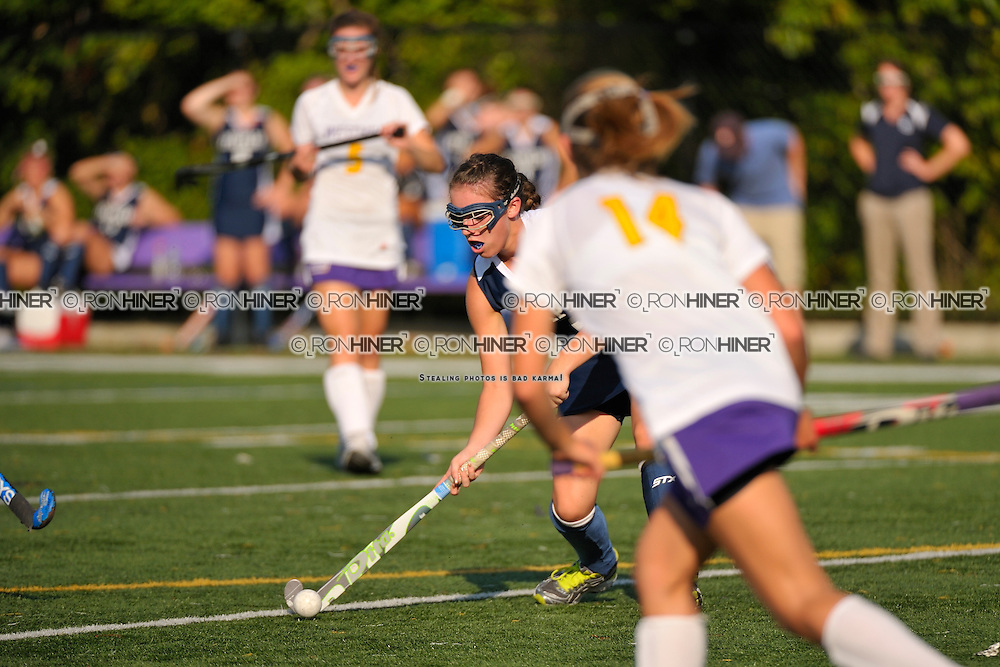 Staples High School Field Hockey..Staples defeats Stamford West Hill 6-1..Jackie Lawrence
