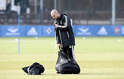 18.02.2014, Imtech Arena, Hamburg, GER, 1. FBL, HSV Training, im Bild Nestor El Maestro (1 Co-Trainer / HSV) // during a Trainingssession of German Bundesliga Club Hamburger SV Imtech Arena in Hamburg, Germany on 2014/02/18. EXPA Pictures © 2014, PhotoCredit: EXPA/ Eibner-Pressefoto/ DAP<br /> <br /> *****ATTENTION - OUT of GER*****