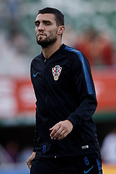 September 11, 2018 - Elche, Alicante, Spain - Mateo Kovacic of Croatia looks on prior to the UEFA Nations League A group four match between Spain and Croatia at Manuel Martinez Valero on September 11, 2018 in Elche, Spain  (Credit Image: © David Aliaga/NurPhoto/ZUMA Press)