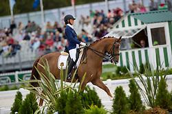Michel George, (BEL), FBW Rainman - Individual Test Grade IV Para Dressage - Alltech FEI World Equestrian Games™ 2014 - Normandy, France.<br /> © Hippo Foto Team - Jon Stroud <br /> 25/06/14