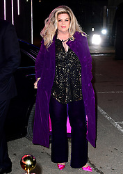 Kirstie Alley enters the house during the Celebrity Big Brother Launch Night at Elstree Studios, Hertfordshire.