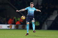 Alfie Mawson of Swansea city in action.  Premier league match, West Bromwich Albion v Swansea city at the Hawthorns stadium in West Bromwich, Midlands on Wednesday 14th December 2016. pic by Andrew Orchard, Andrew Orchard sports photography.