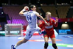 Alexandra Lacrabere. EHF Euro 2020 Group A match between France and Denmark in Jyske Bank Boxen, Herning, Denmark on December 8, 2020. Photo Credit: Allan Jensen/EVENTMEDIA.
