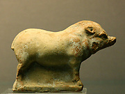 Terracotta pig Made Knidos about 200 BC Pigs were often sacrificed to Demeter; a terracotta dedication.