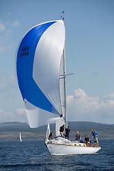 Final days' racing at the Silvers Marine Scottish Series 2016, the largest sailing event in Scotland organised by the  Clyde Cruising Club<br /> <br /> Racing on Loch Fyne from 27th-30th May 2016<br /> <br /> GBR2496 , Valhalla of Ashton , Alan Dunnet , CCC , Swan 36<br /> <br /> Credit : Marc Turner / CCC<br /> For further information contact<br /> Iain Hurrel<br /> Mobile : 07766 116451<br /> Email : info@marine.blast.com<br /> <br /> For a full list of Silvers Marine Scottish Series sponsors visit http://www.clyde.org/scottish-series/sponsors/