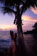Hammock at sunset<br />