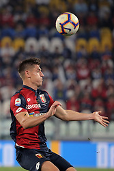 October 20, 2018 - Turin, Turin, Italy - Krzysztof Piatek #9 of Genoa CFC in action during the serie A match between Juventus FC and Genoa CFC at Allianz Stadium on October 20, 2018 in Turin, Italy. (Credit Image: © Giuseppe Cottini/NurPhoto via ZUMA Press)