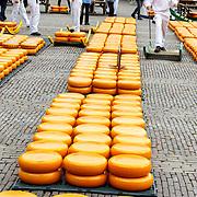 """NLD/Alkmaar/20180518 - Perspresentatie """"Nederland staat op tegen kanker"""" officiele start, kaasmarkt"""