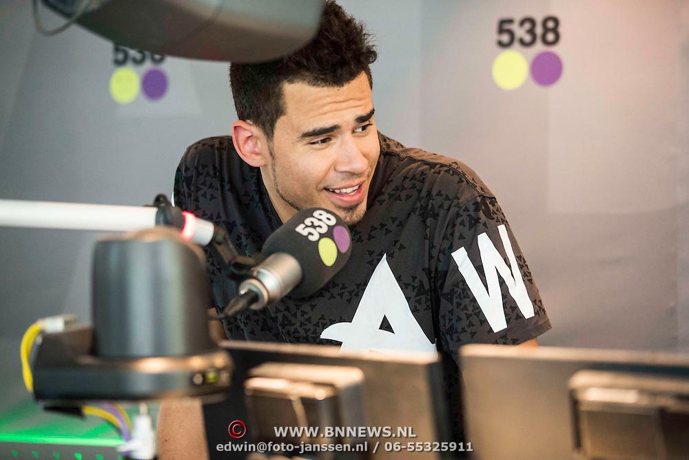 NLD/Hilversum/20140516 - Dj Afrojack voor één dag programmadirecteur Radio 538, Afrojack