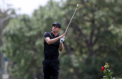 March 10, 2017 - Palm Harbor, Florida, U.S. - DOUGLAS R. CLIFFORD   |   Times.Nick Watney plays a tee shot at hole #17 while playing in the second round of the Valspar Golf Championship at Innisbrook Resort and Golf Club's Copperhead Course on Thursday (3/9/17) in Palm Harbor. (Credit Image: © Douglas R. Clifford/Tampa Bay Times via ZUMA Wire)