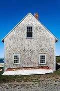 Boat house, Chatham Harbor, Cape Cod, Massachusetts, USA