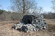 Traditional dry stone shepherd's hut, near the village of Kosovelje, Kras (Karst) region, Slovenia © Rudolf Abraham
