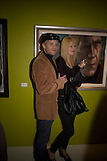 JAMIE WOOD AND IMOGEN PELHAM , Ideas And Idols - private view of work by Paul Karslake.<br />Scream, 34 Bruton Street, London, W1, 6.30-8.30pm<br />21 February 2008.  *** Local Caption *** -DO NOT ARCHIVE-© Copyright Photograph by Dafydd Jones. 248 Clapham Rd. London SW9 0PZ. Tel 0207 820 0771. www.dafjones.com.