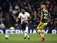 Football - 2019 / 2020 Emirates FA Cup - Fourth Round, Replay: Tottenham Hotspur vs. Southampton<br /> <br /> Tottenham Hotspur's Japhet Tanganga, at The Tottenham Hotspur Stadium.<br /> <br /> COLORSPORT/ASHLEY WESTERN