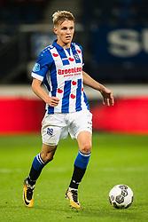 Martin Odegaard of sc Heerenveen during the Dutch Eredivisie match between sc Heerenveen and Heracles Almelo at Abe Lenstra Stadium on August 19, 2017 in Heerenveen, The Netherlands