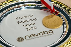Super cup scale for Amysoft Lycurgus after 3-1 victory over Active Living Orion on October 04, 2020 in Van der Knaaphal, Ede