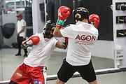 Boxen: Agon Sports, Berlin, 17.07.2020<br /> William Scull (CUB) und Björn Schicke<br /> © Torsten Helmke