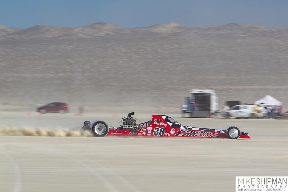 Steinegger & Eshenbaugh, 36, eng V4, body GMR, driver Ted Olson, 213.354 mph, previous record 201.340