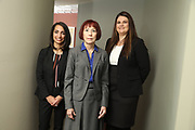 SHOT 12/4/19 11:13:24 AM - McGuane & Hogan, P.C., a Colorado family law firm located in Denver, Co. Includes attorneys Kathleen Ann Hogan, Halleh T. Omidi and Katie P. Ahles. (Photo by Marc Piscotty / © 2019)