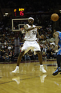 COPYRIGHT DAVID RICHARD.LeBron James of the Cleveland Cavaliers in action vs. Orlando; Feb. 21, 2006..