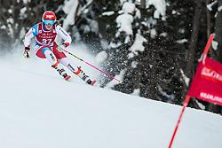 Melanie Meillard (SUI) during the Ladies' Giant Slalom at 57th Golden Fox event at Audi FIS Ski World Cup 2020/21, on January 16, 2021 in Podkoren, Kranjska Gora, Slovenia. Photo by Vid Ponikvar
