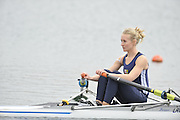 Eton, United Kingdom  GBR LW1X. Imogen WALSH, at the start of his heat of the women's lightweight single sculls at the 2012 GB Rowing Senior Trials, Dorney Lake. Nr Windsor, Berks.  Saturday  10/03/2012  [Mandatory Credit; Peter Spurrier/Intersport-images]