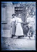 family portrait France ca 1920s