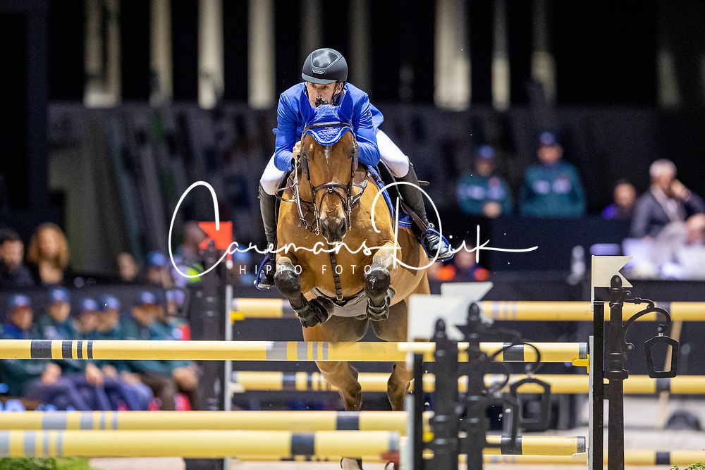 Bles Bart, NED, Kriskras DV<br /> Jumping International de Bordeaux 2020<br /> © Hippo Foto - Dirk Caremans<br />  08/02/2020