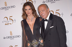 Alessandra Ambrosio and Fawaz Gruosi attending the DeGrisogono party during the 71st Cannes Film Festival in Antibes, France, on May 15, 2018. Photo by Julien Reynaud/APS-Medias/ABACAPRESS.COM
