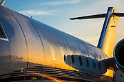 A Bombardier Challenger 605 on the ramp at Opa-locka Executive Airport.  Commissioned as advertising for Phillips 66 Aviation Fuels.  <br /> <br /> Created by aviation photographer John Slemp of Aerographs Aviation Photography. Clients include Goodyear Aviation Tires, Phillips 66 Aviation Fuels, Smithsonian Air & Space magazine, and The Lindbergh Foundation.  Specialising in high end commercial aviation photography and the supply of aviation stock photography for advertising, corporate, and editorial use.