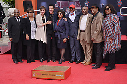 Lionel Richie and Friends at the Lionel Richie Hand and Footprint Ceremony held at the TCL Chinese Theatre in Hollywood, CA  on Wednesday, March 7, 2018. (Photo By Sthanlee B. Mirador/Sipa USA)