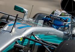 May 27, 2017 - Monte-Carlo, Monaco - Valtteri Bottas of Finland and AMG Petronas Mercedes driver goes during the qualification on Formula 1 Grand Prix de Monaco on May 27, 2017 in Monte Carlo, Monaco. (Credit Image: © Robert Szaniszlo/NurPhoto via ZUMA Press)
