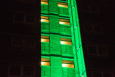 2018-06-14 Green for Grenfell illuminations