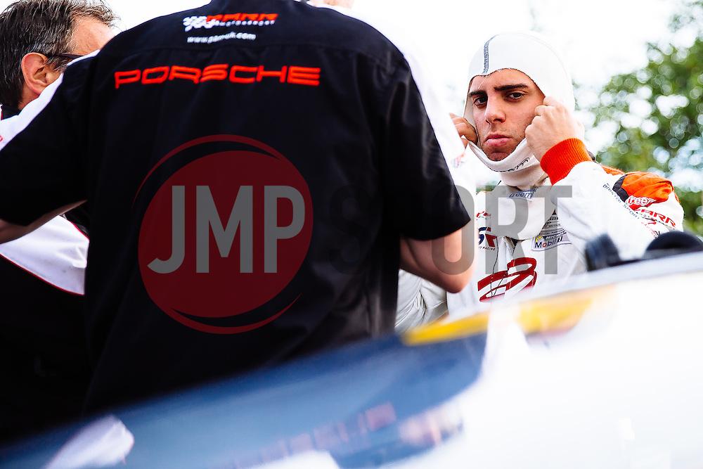 Dino Zamparelli   Bristol Sport Racing   #88 Porsche 911 GT3 Cup Car   Porsche Carrera Cup GB   Race 1 - Mandatory byline: Rogan Thomson/JMP - 07966 386802 - 23/08/2015 - MOTORSPORT - Knockhill Racing Circuit - Dunfermline, Scotland - BTCC Meeting Day 2.